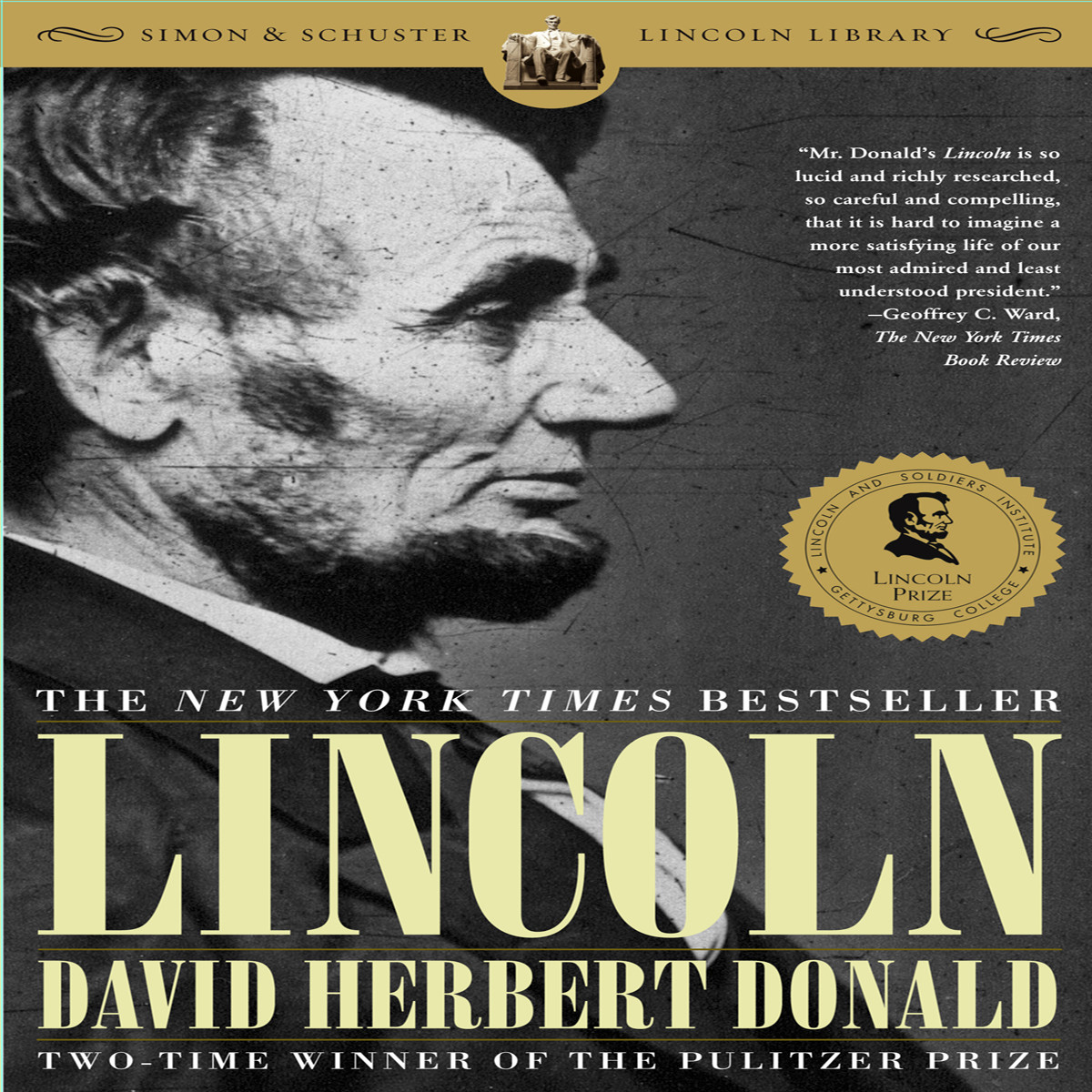 Printable Lincoln Audiobook Cover Art