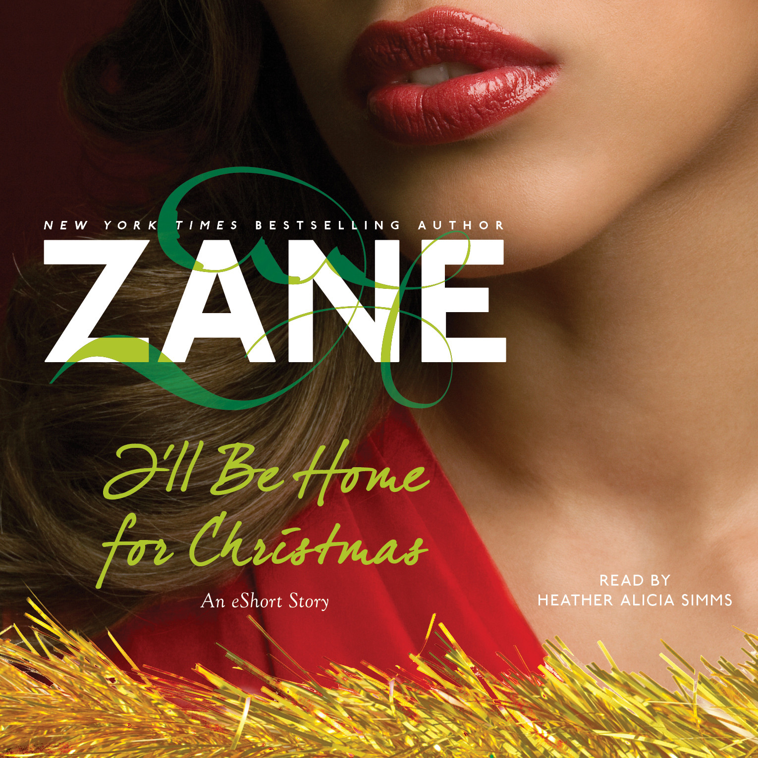 Printable Zane's I'll Be Home for Christmas: An eShort Story Audiobook Cover Art