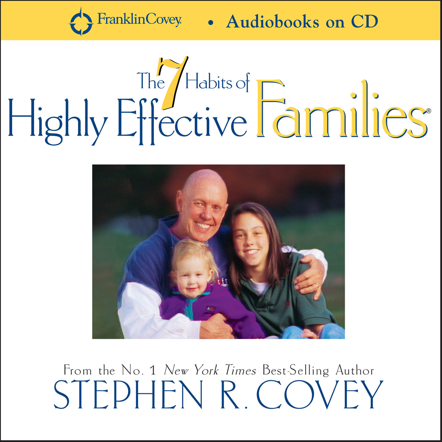 Printable 7 Habits of Highly Effective Families Audiobook Cover Art