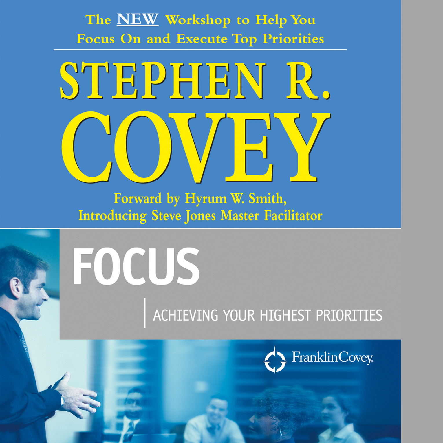 Printable Focus: Achieving Your Highest Priorities Audiobook Cover Art