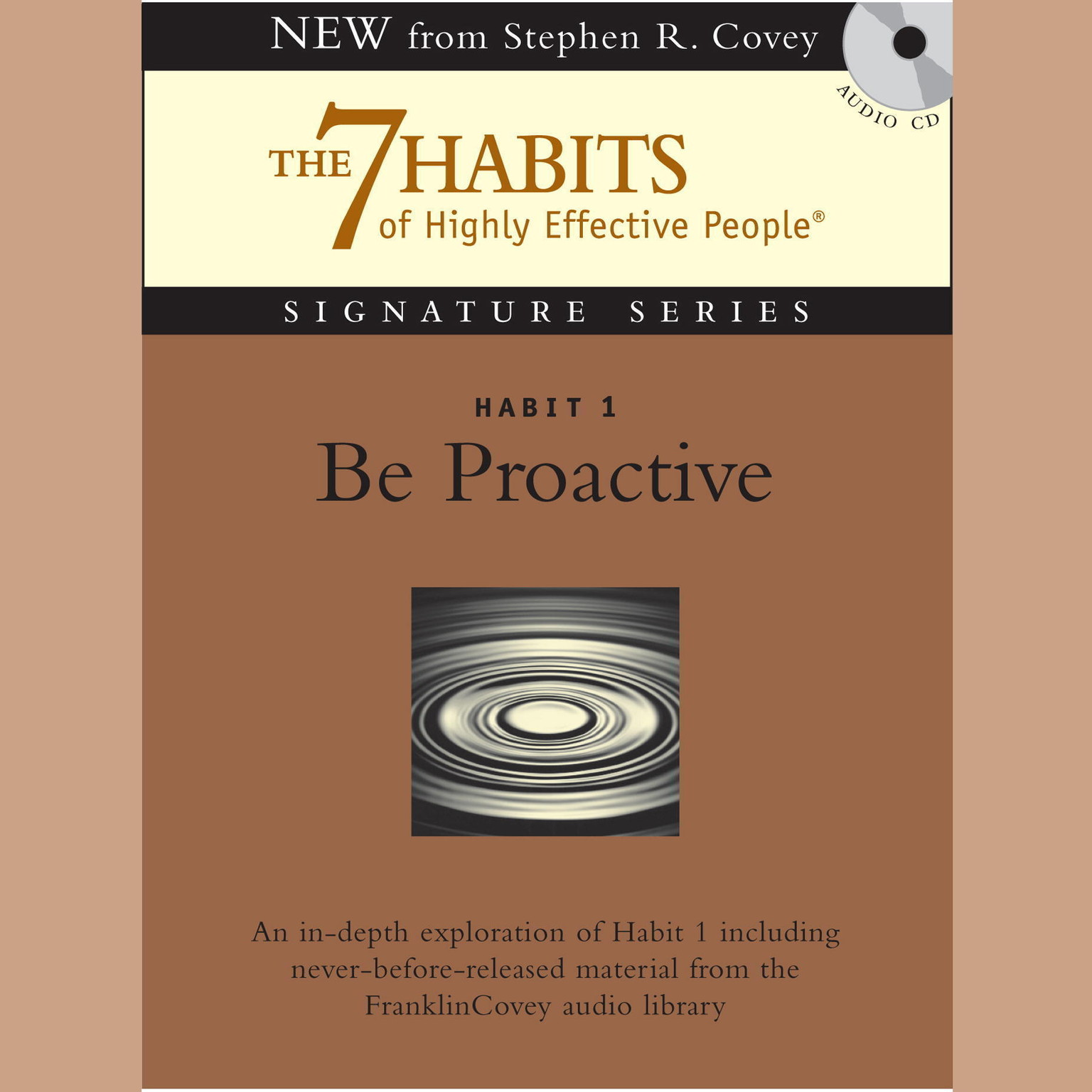 Printable Habit 1: Be Proactive: The Habit of Choice Audiobook Cover Art