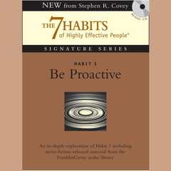 Habit 1: Be Proactive: The Habit of Choice Audiobook, by Stephen R. Covey