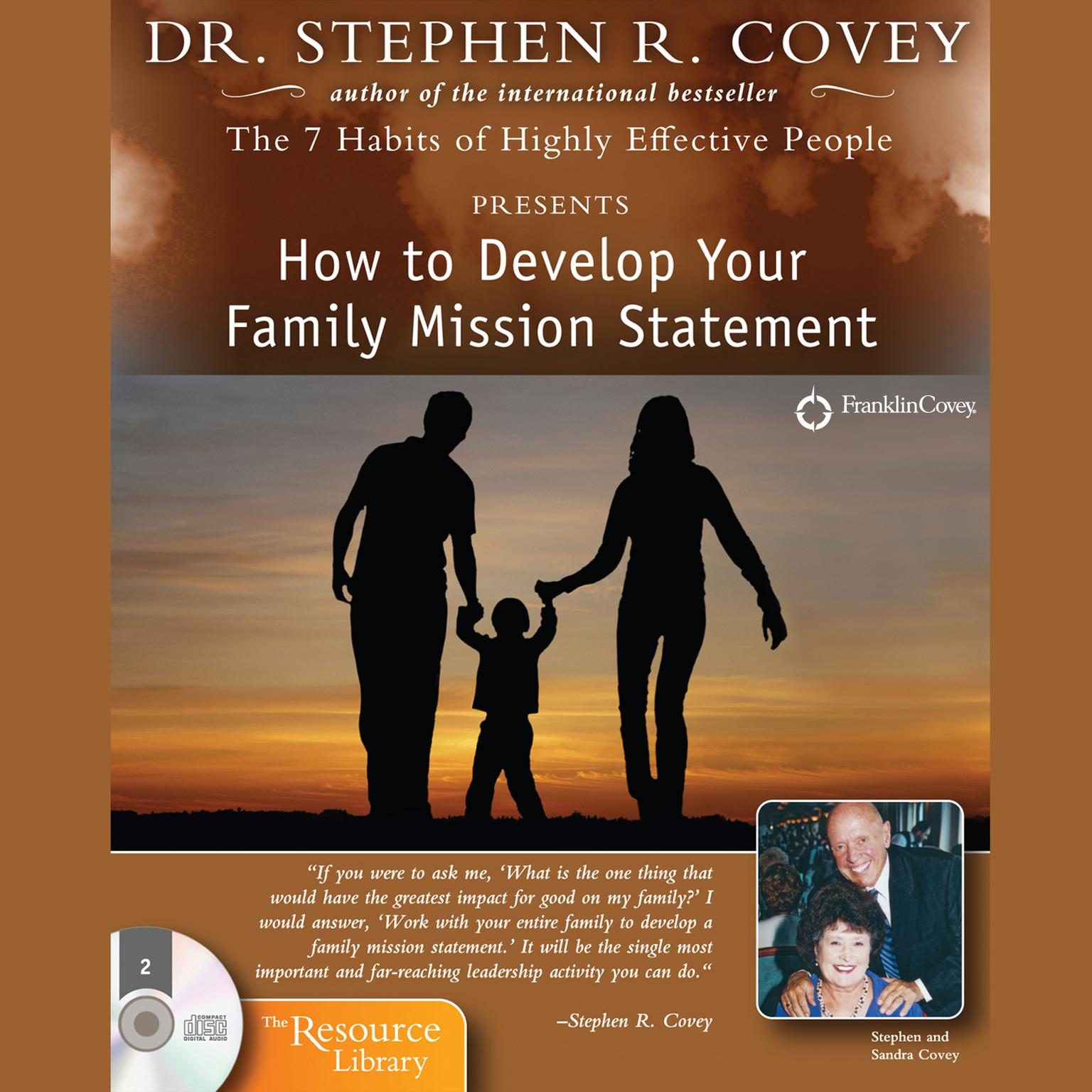 Printable How to Develop Your Family Mission Statement Audiobook Cover Art