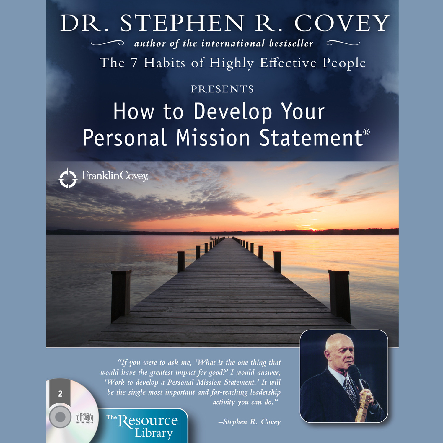 Printable How to Develop Your Personal Mission Statement Audiobook Cover Art