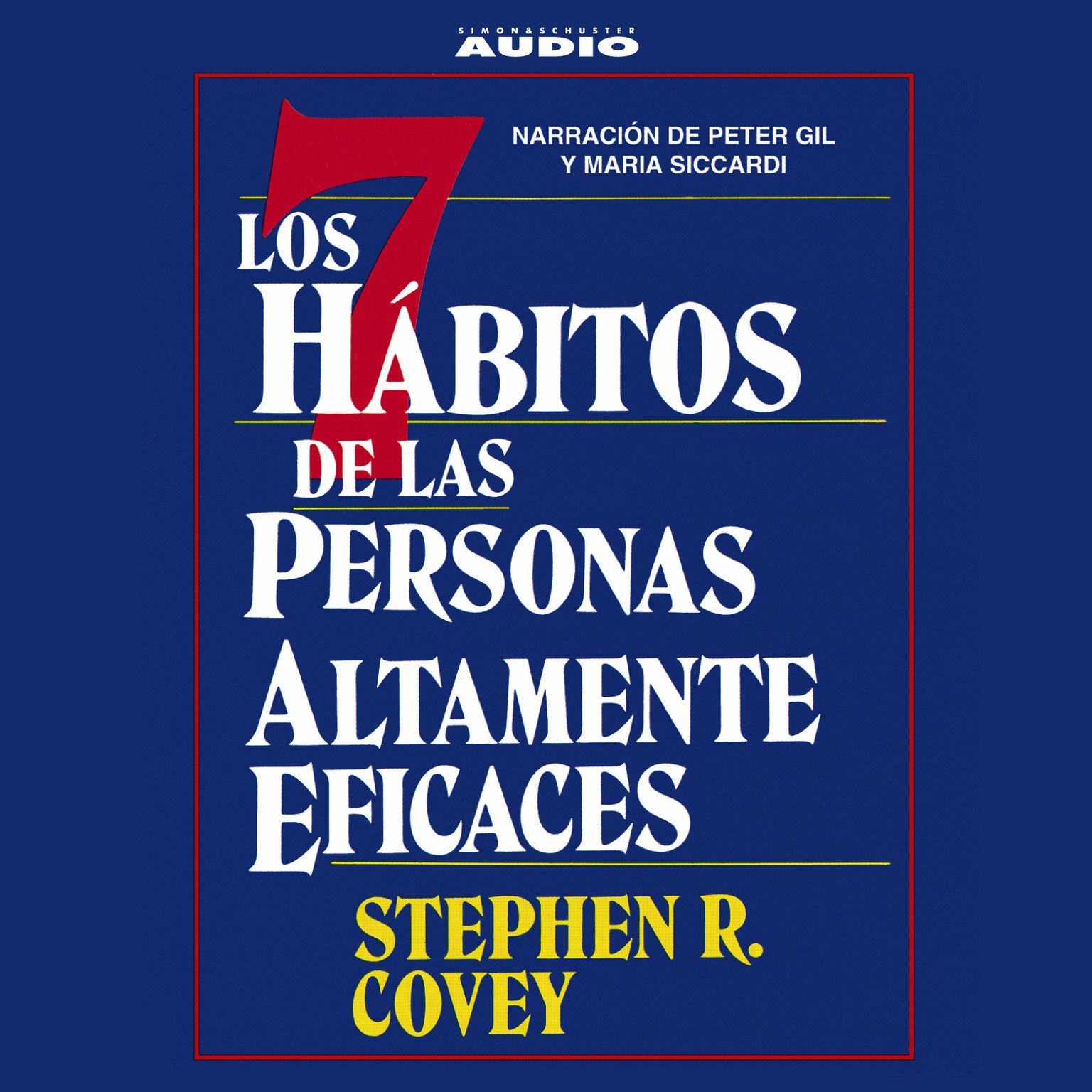 Printable Los Siete Habitos de las Personas Altamente Eficaces Audiobook Cover Art
