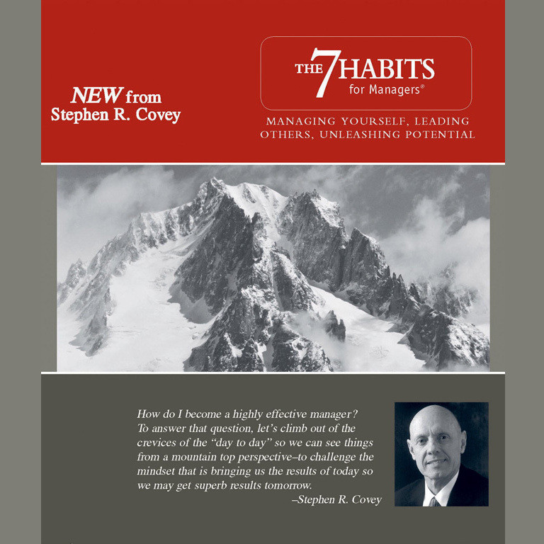 Printable The 7 Habits for Managers: Managing Yourself, Leading Others, Unleashing Potential Audiobook Cover Art