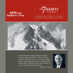 The 7 Habits for Managers: Managing Yourself, Leading Others, Unleashing Potential Audiobook, by Stephen R. Covey