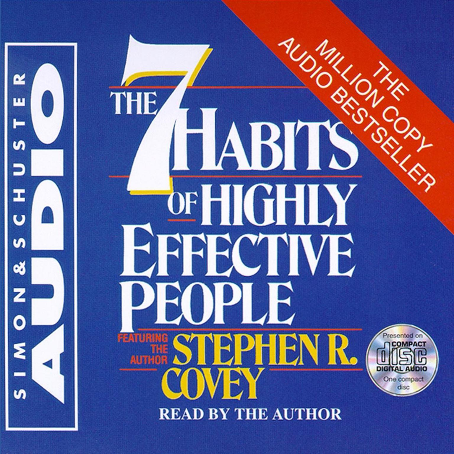 Printable The 7 Habits of Highly Effective People Audiobook Cover Art