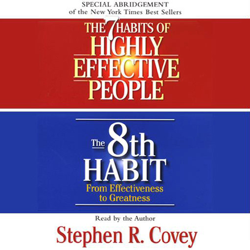 Printable The 7 Habits of Highly Effective People & the 8th Habit: (Special Three-Hour Abridgment) Audiobook Cover Art