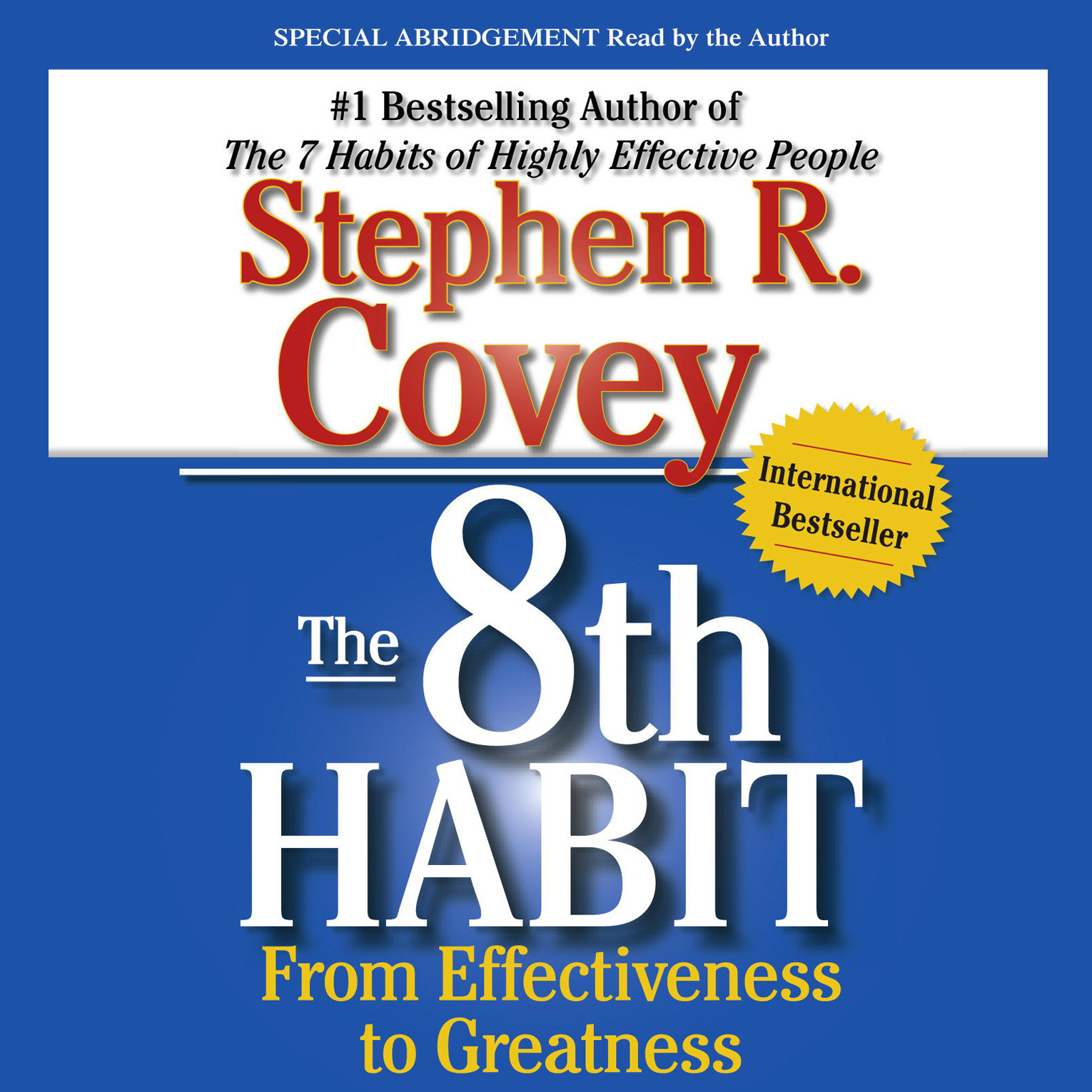 Printable The 8th Habit: From Effectiveness to Greatness Audiobook Cover Art