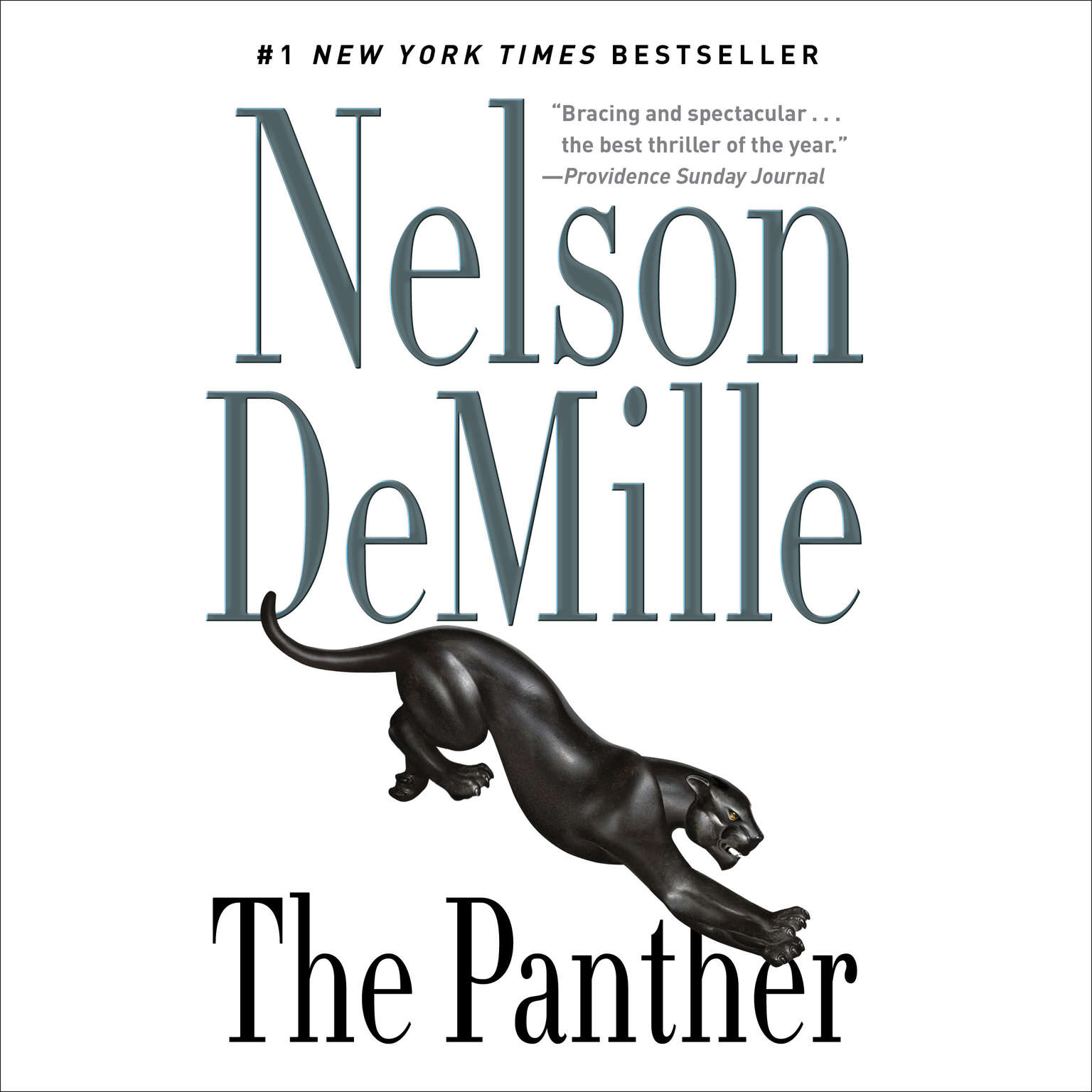 Printable The Panther Audiobook Cover Art