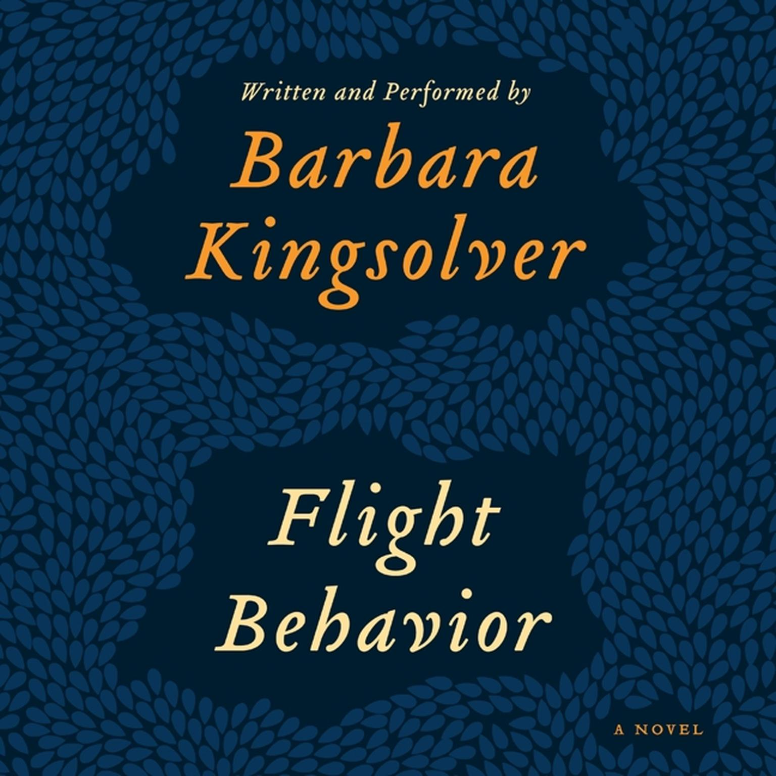 Printable Flight Behavior: A Novel Audiobook Cover Art