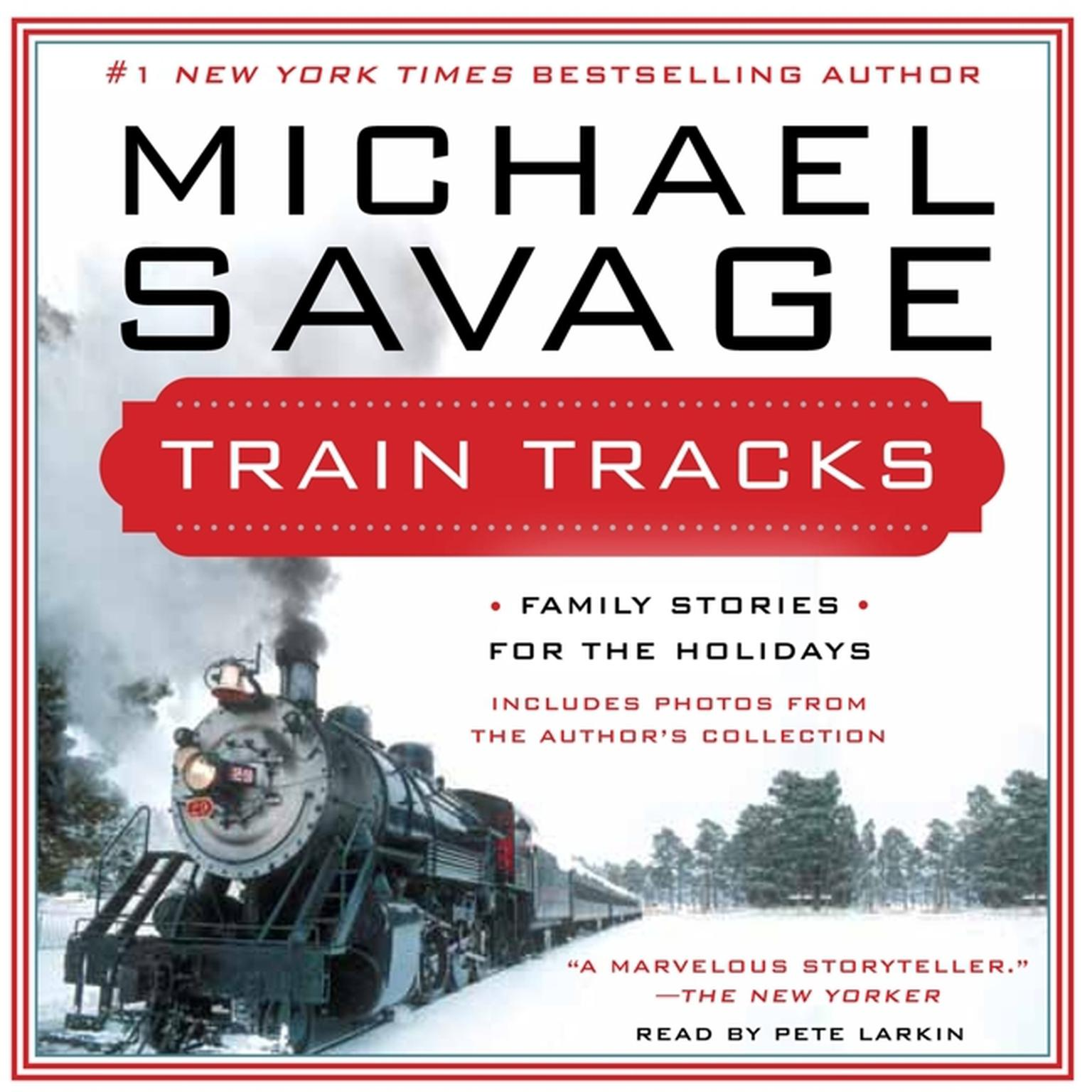 Printable Train Tracks: Family Stories for the Holidays Audiobook Cover Art