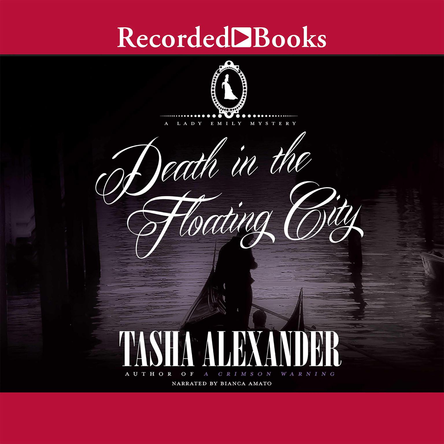 Printable Death in the Floating City Audiobook Cover Art