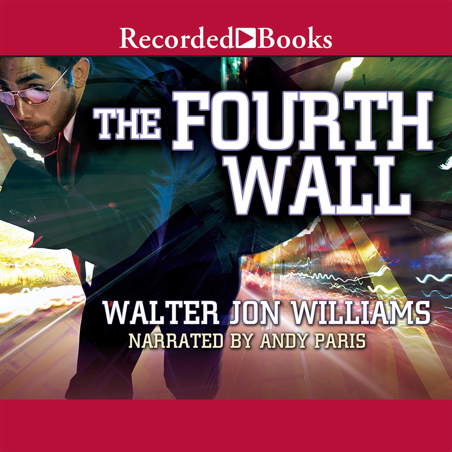 Printable Fourth Wall Audiobook Cover Art