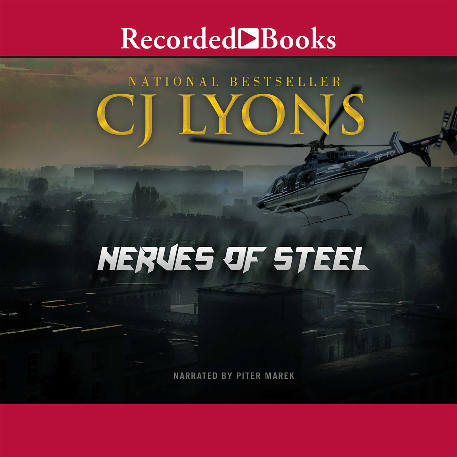 Printable Nerves of Steel Audiobook Cover Art
