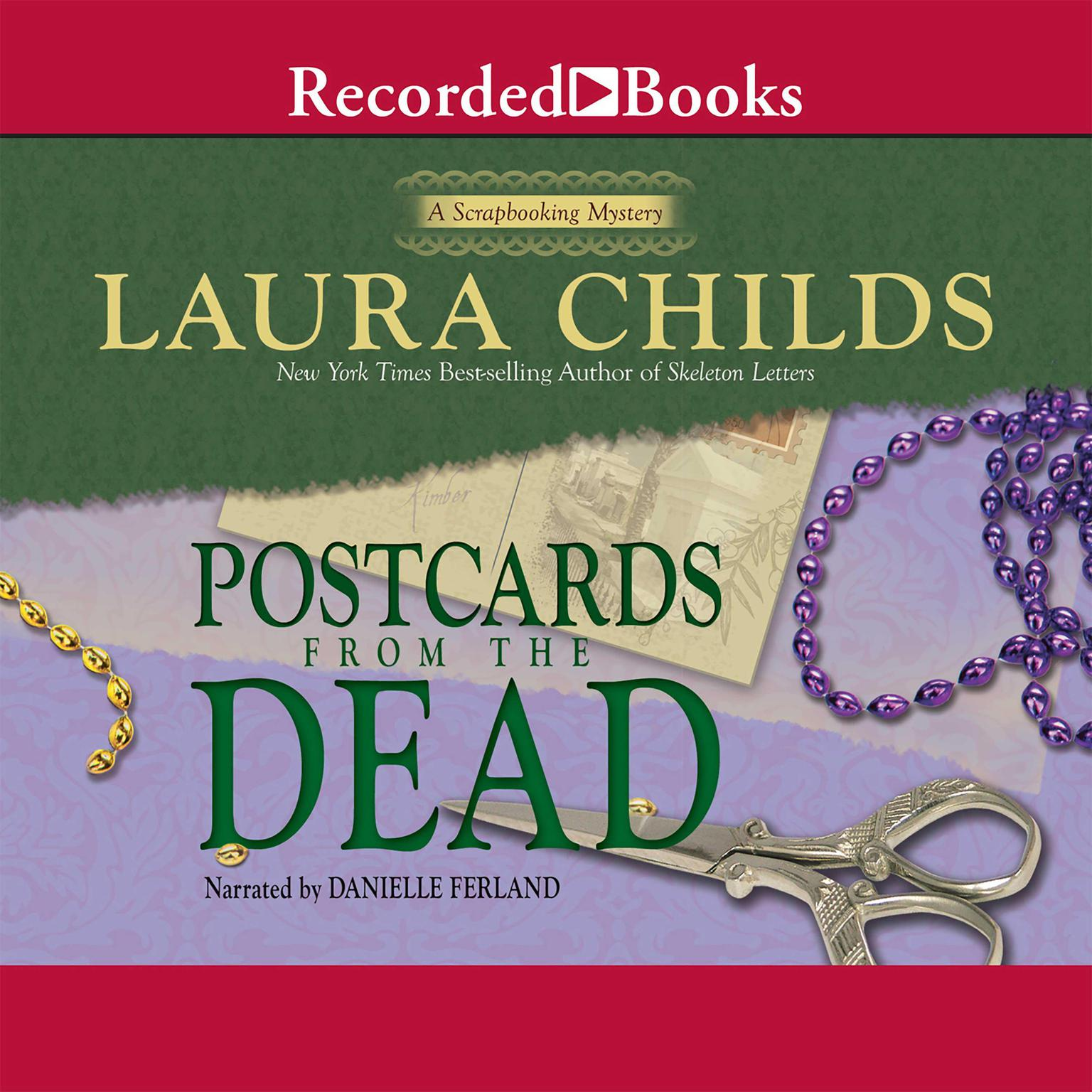 Printable Postcards from the Dead Audiobook Cover Art