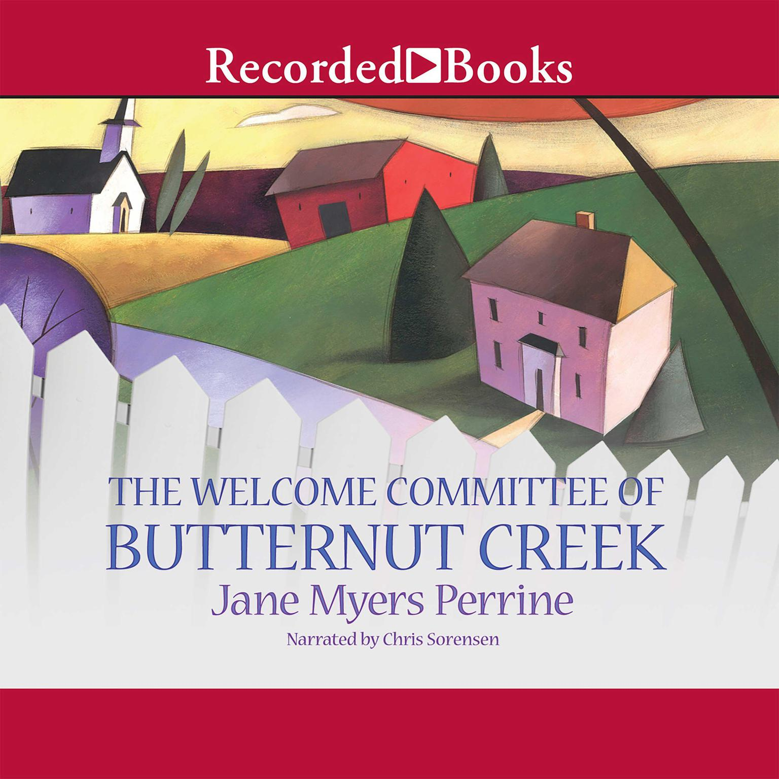 Printable The Welcome Committee of Butternut Creek Audiobook Cover Art