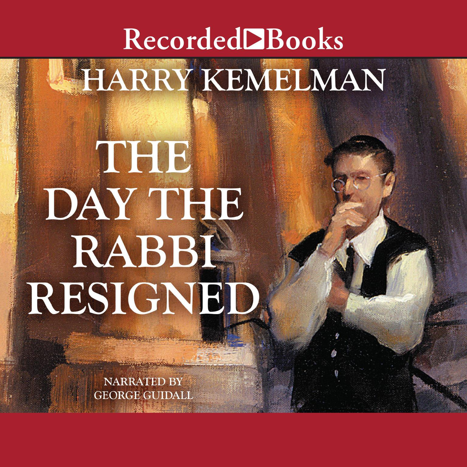 Printable The Day the Rabbi Resigned Audiobook Cover Art