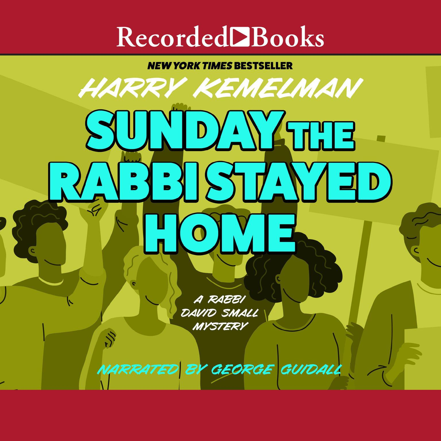Printable Sunday the Rabbi Stayed Home Audiobook Cover Art