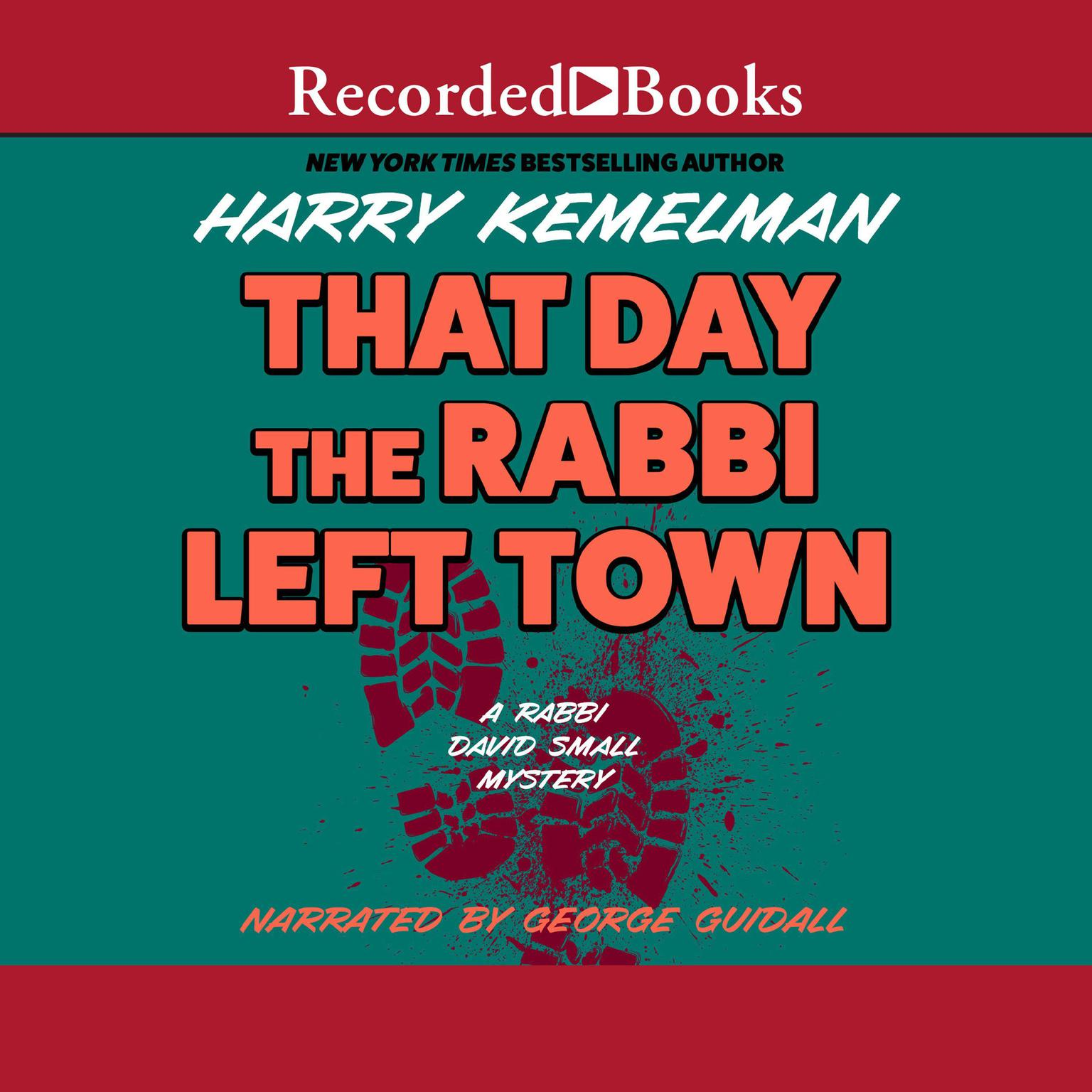 Printable The Day the Rabbi Left Town Audiobook Cover Art