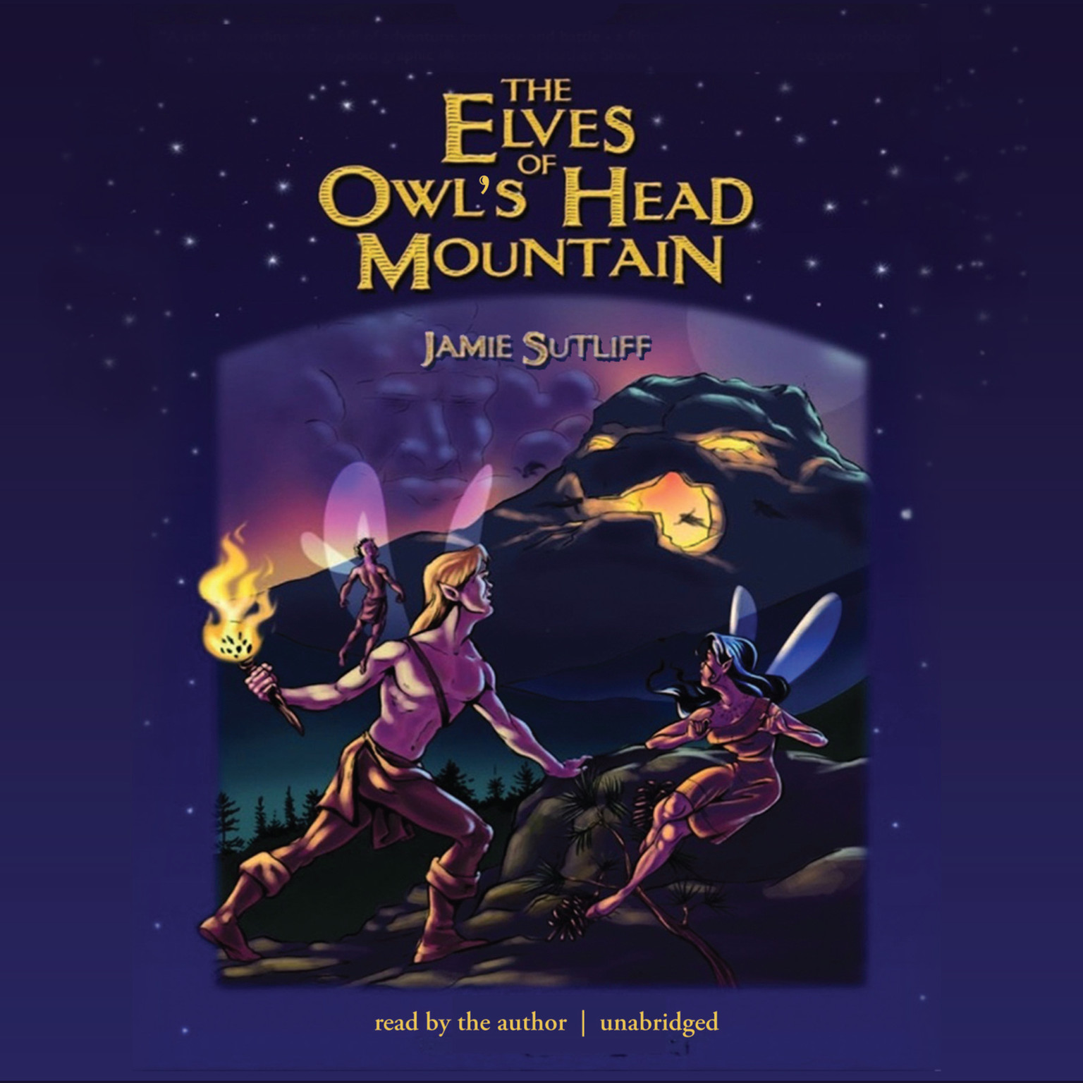 Printable The Elves of Owl's Head Mountain Audiobook Cover Art