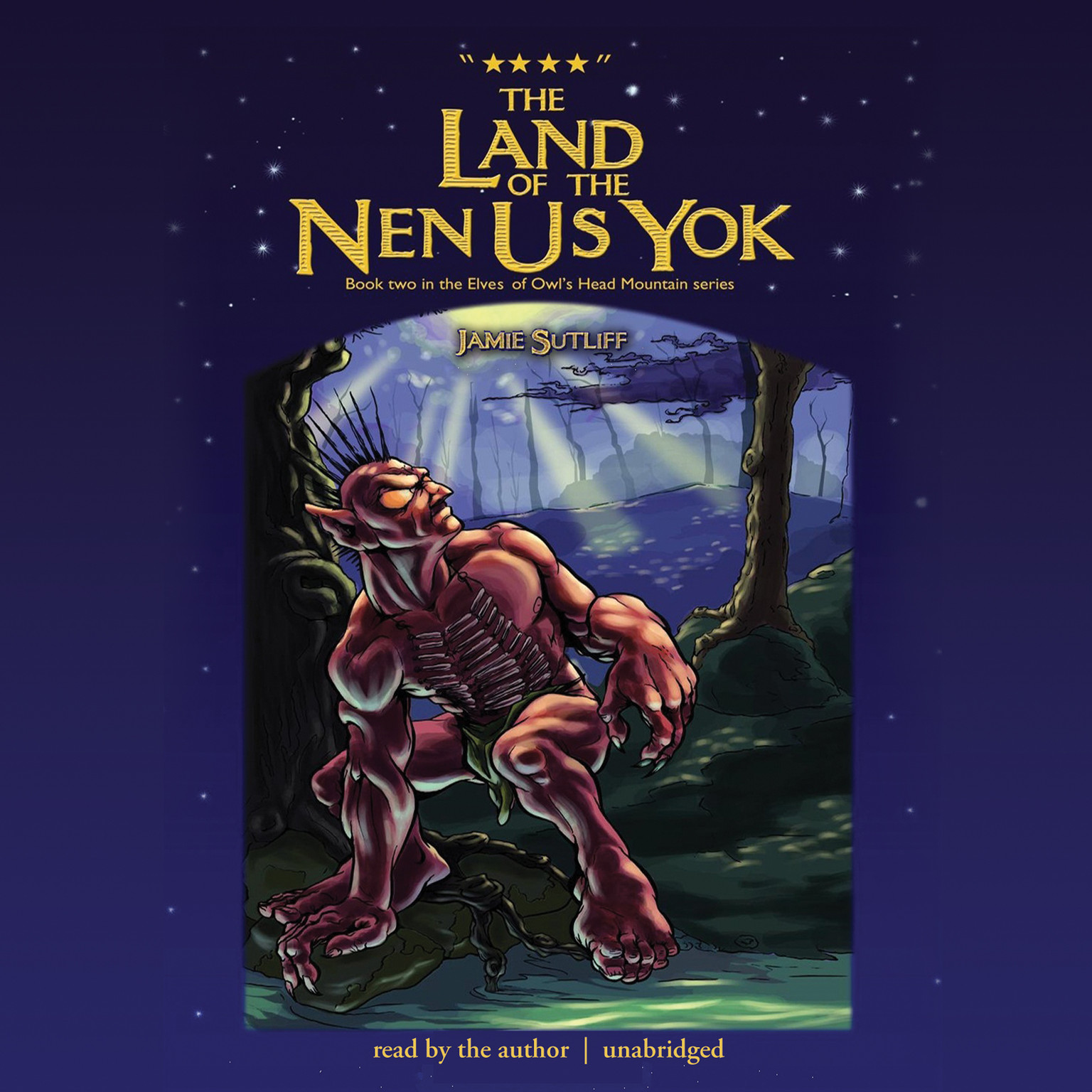 Printable The Land of the Nen-Us-Yok Audiobook Cover Art