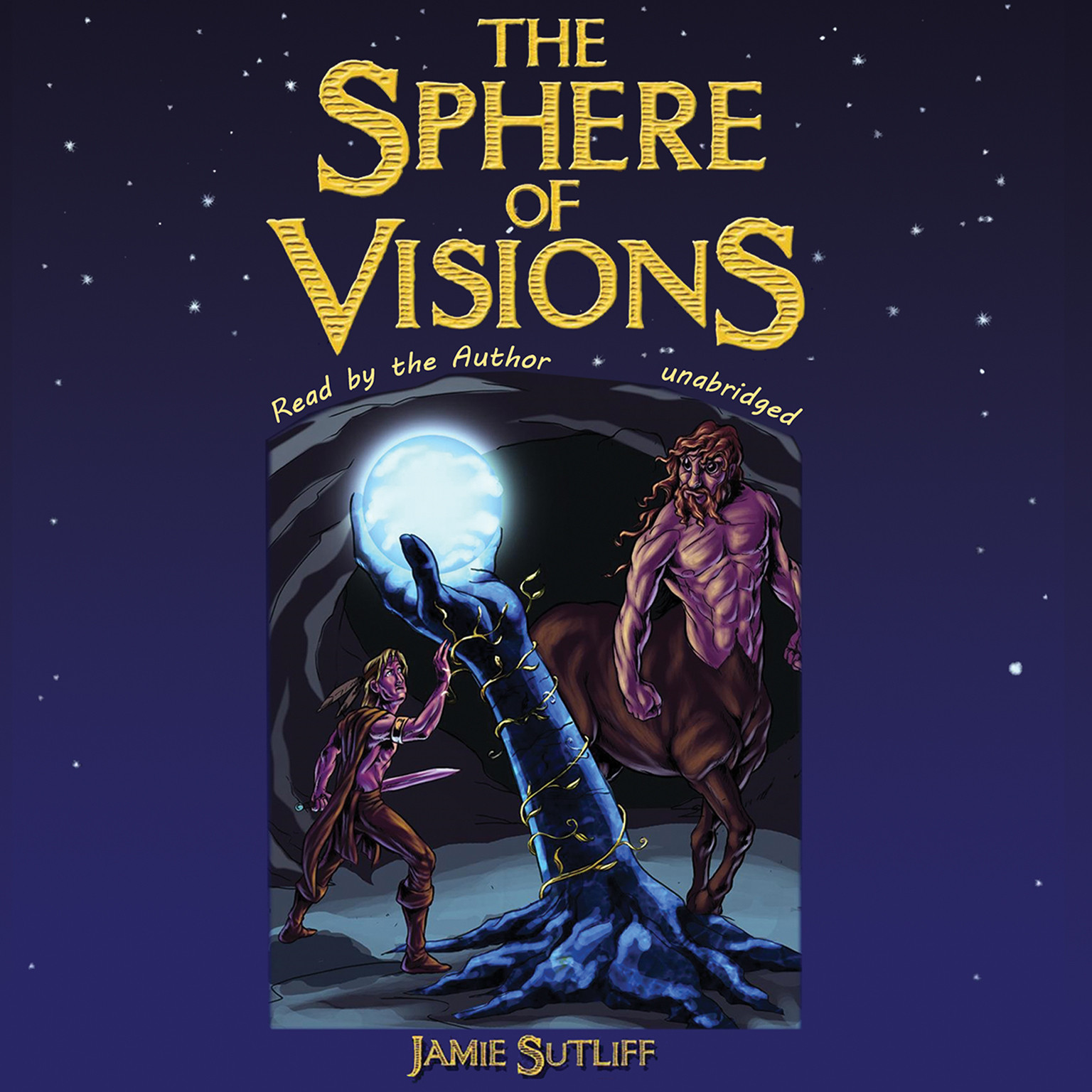 Printable The Sphere of Visions Audiobook Cover Art
