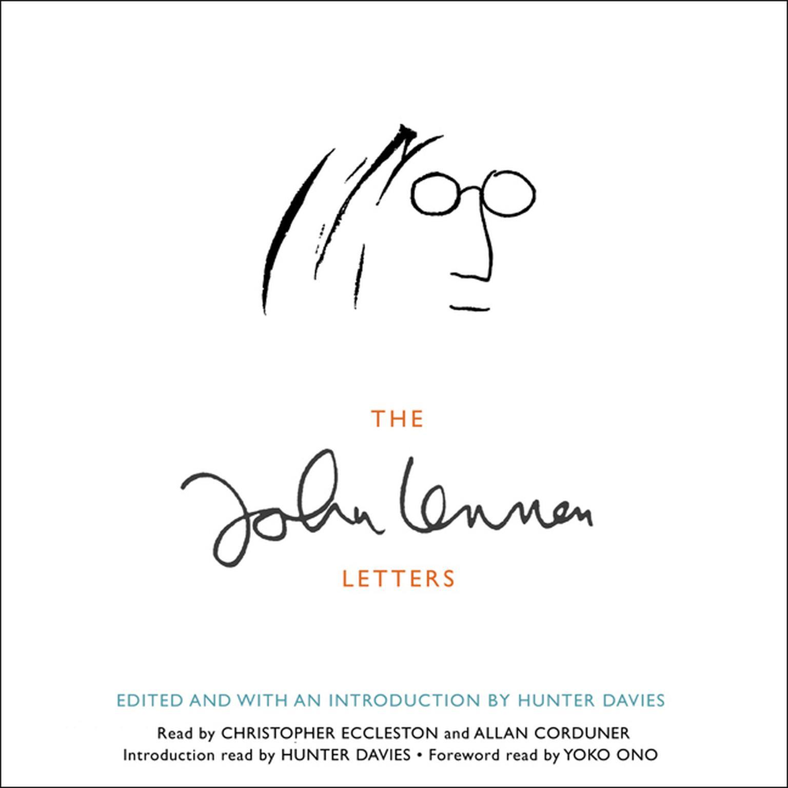 Printable The John Lennon Letters Audiobook Cover Art