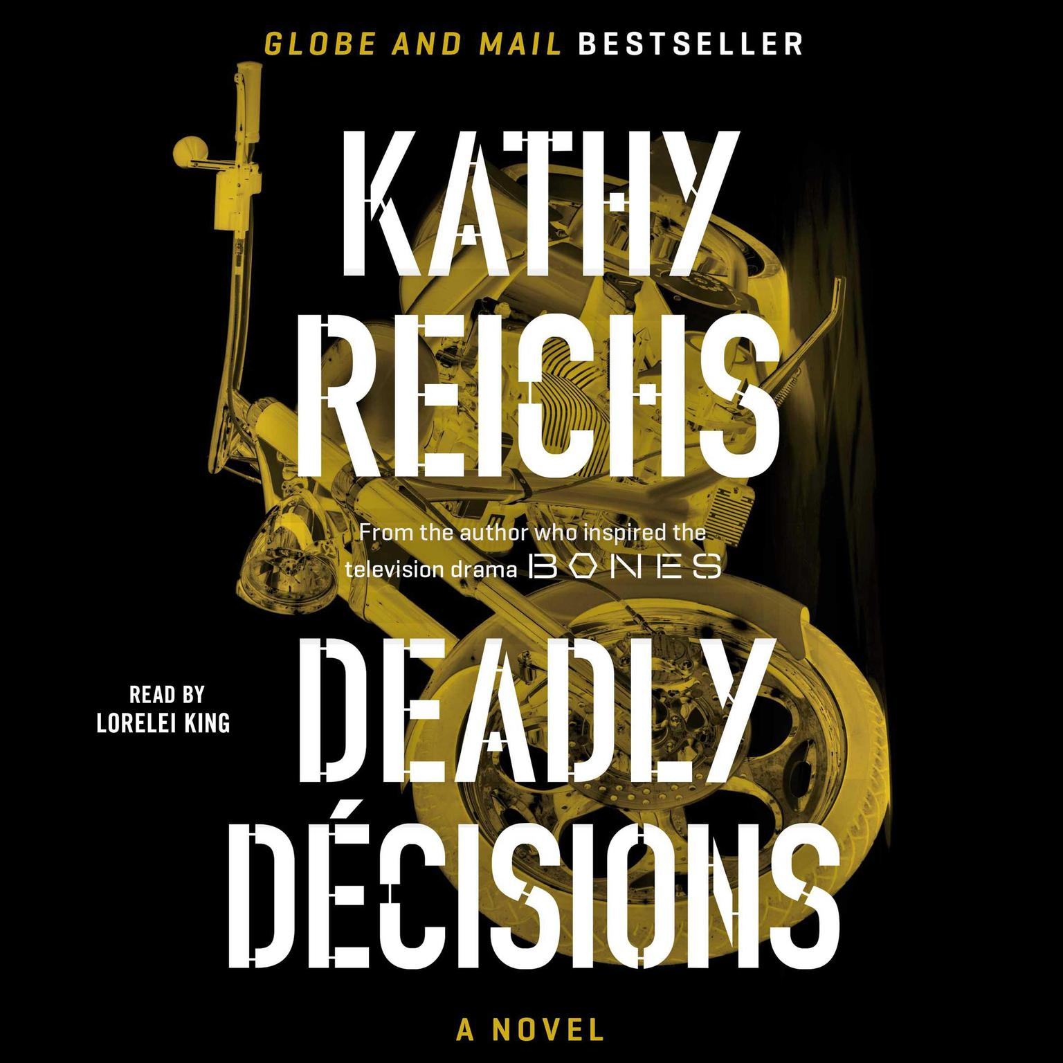 Printable Deadly Decisions: A Novel Audiobook Cover Art