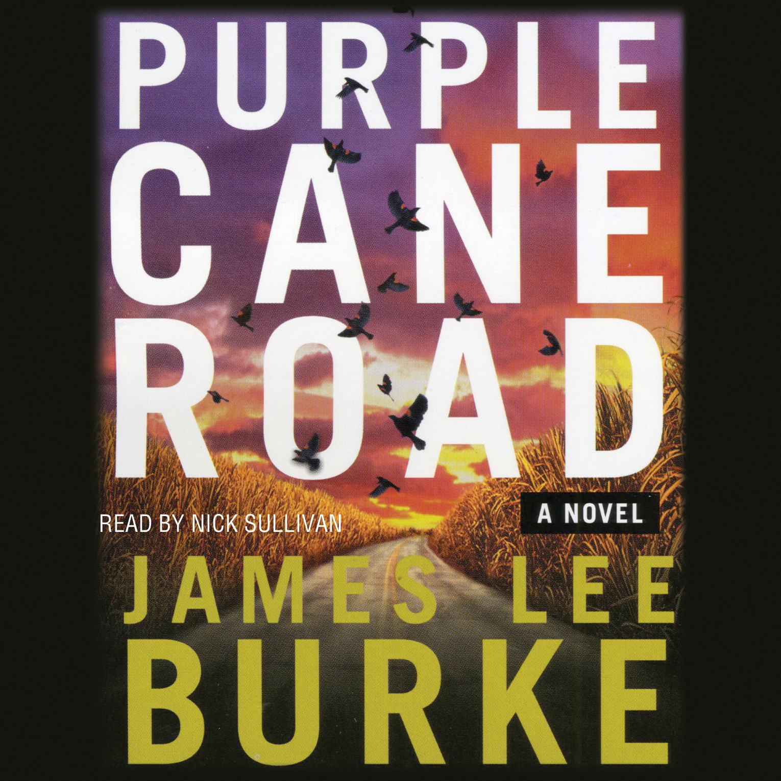 Printable Purple Cane Road Audiobook Cover Art