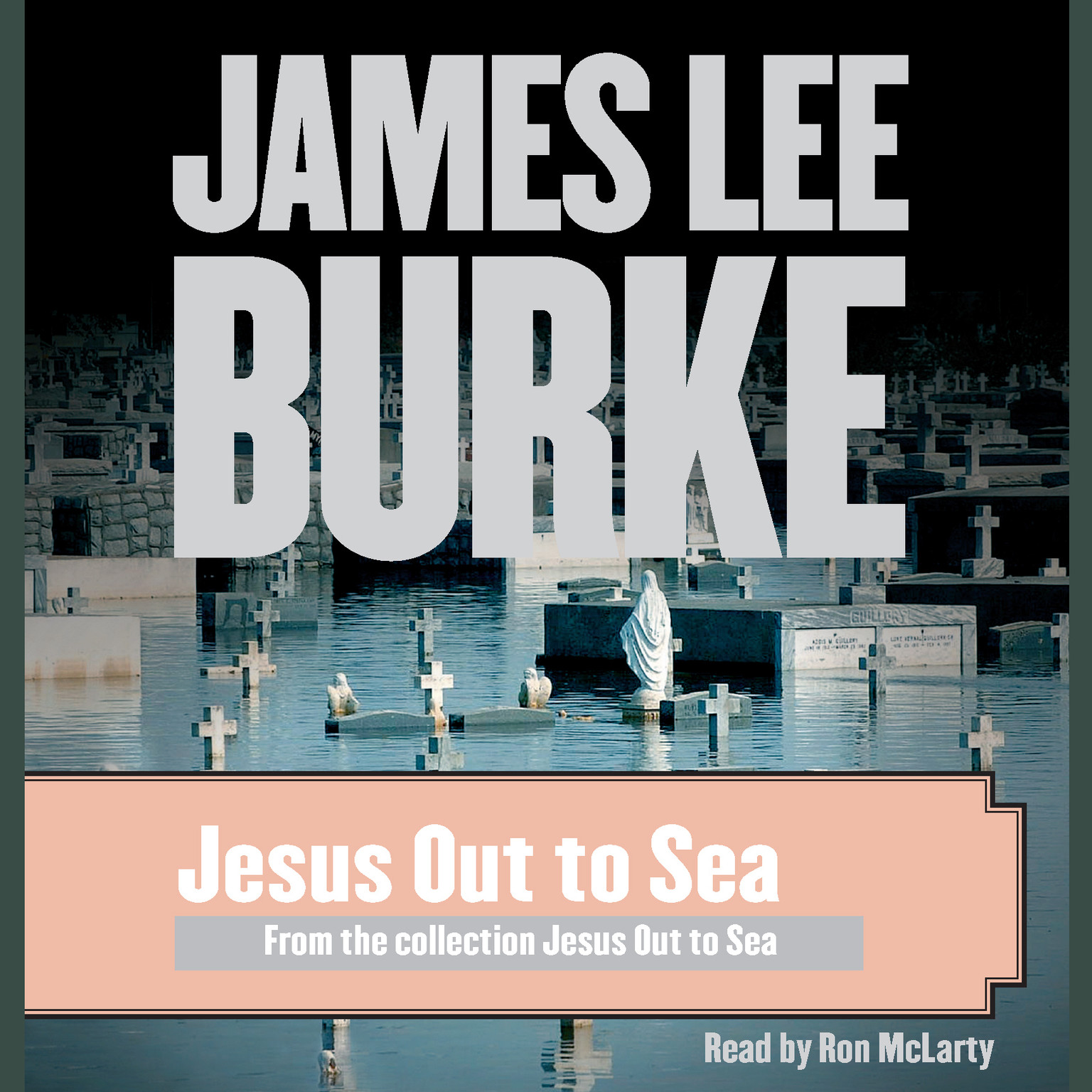 Printable Jesus Out to Sea Audiobook Cover Art