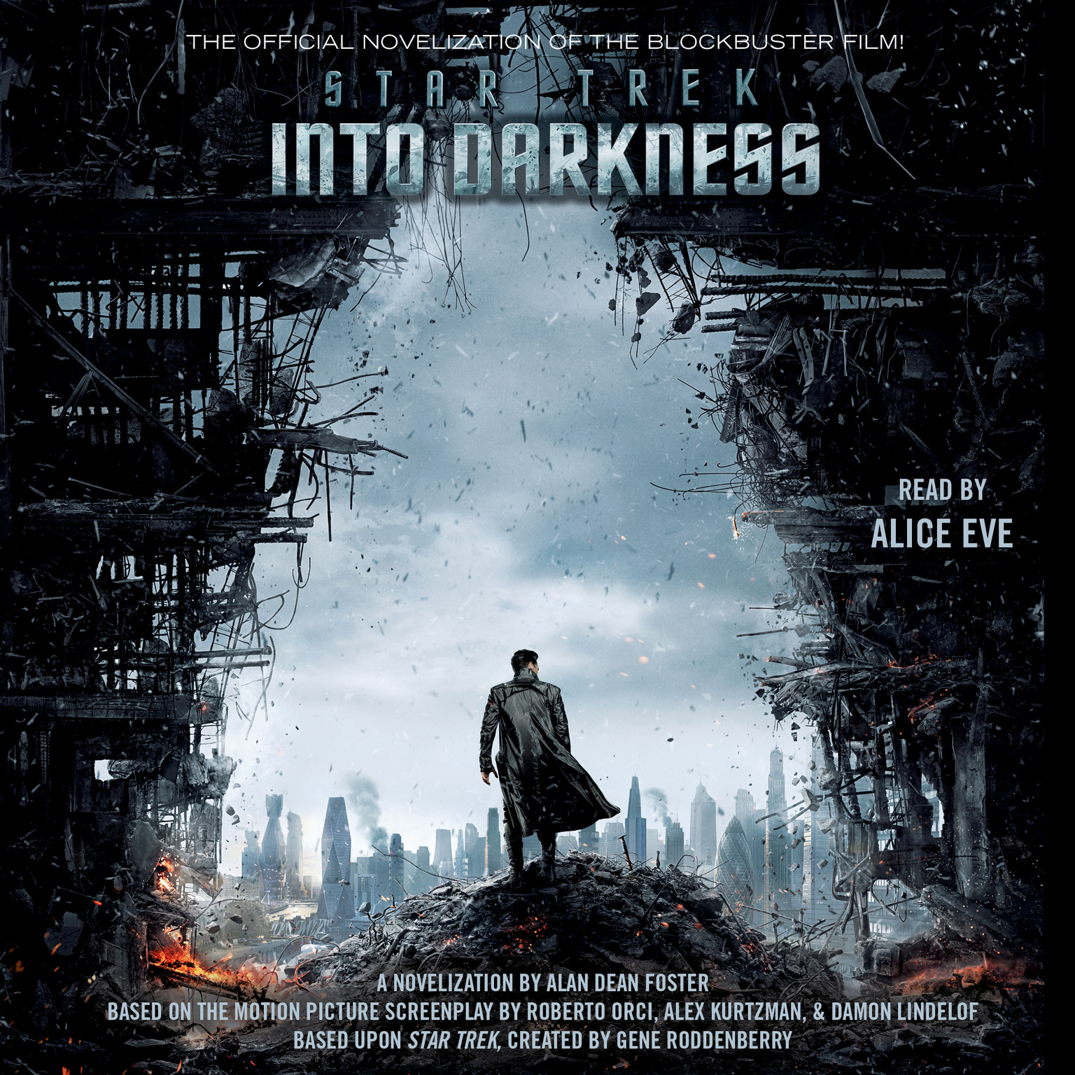 Printable Star Trek Into Darkness Audiobook Cover Art