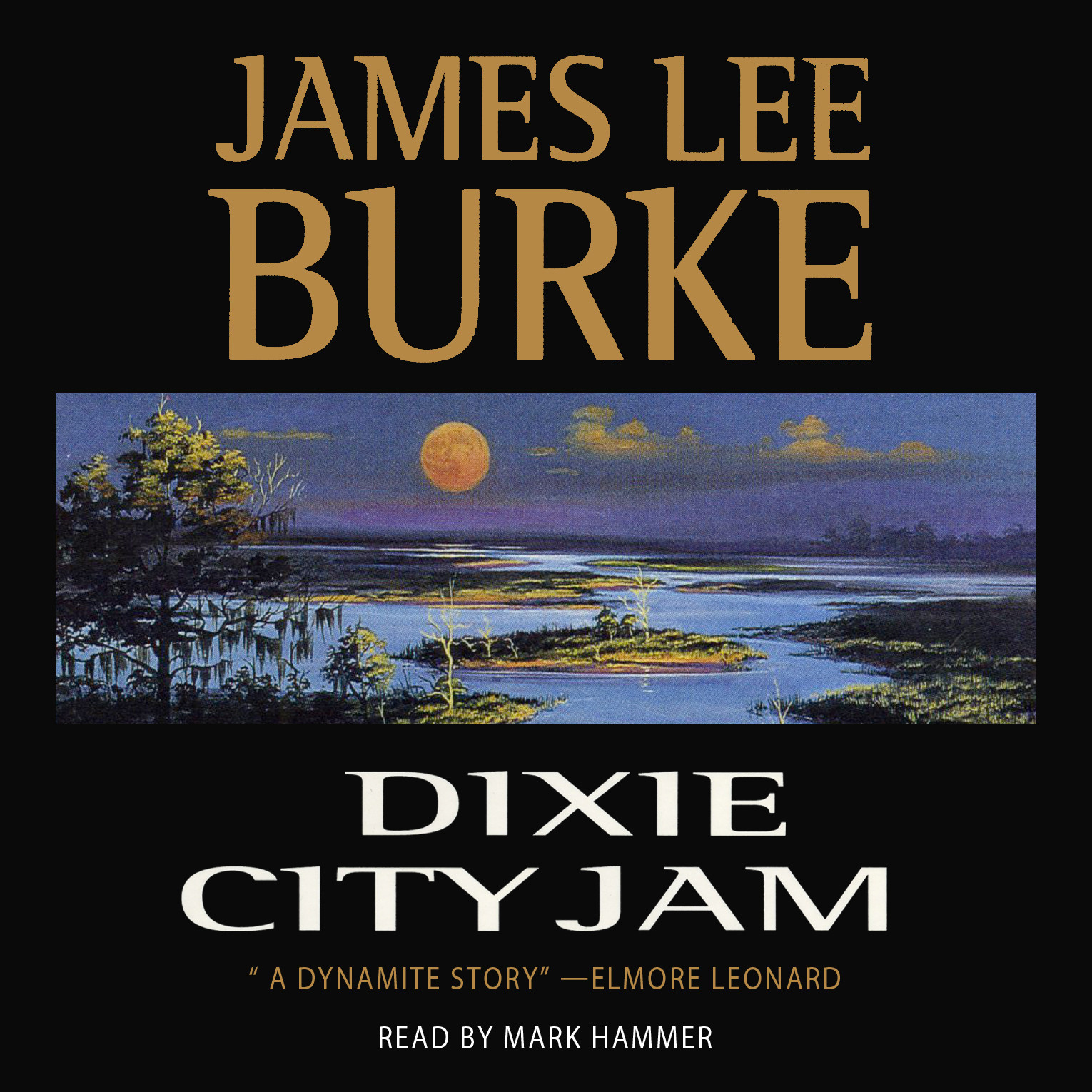 Printable Dixie City Jam Audiobook Cover Art