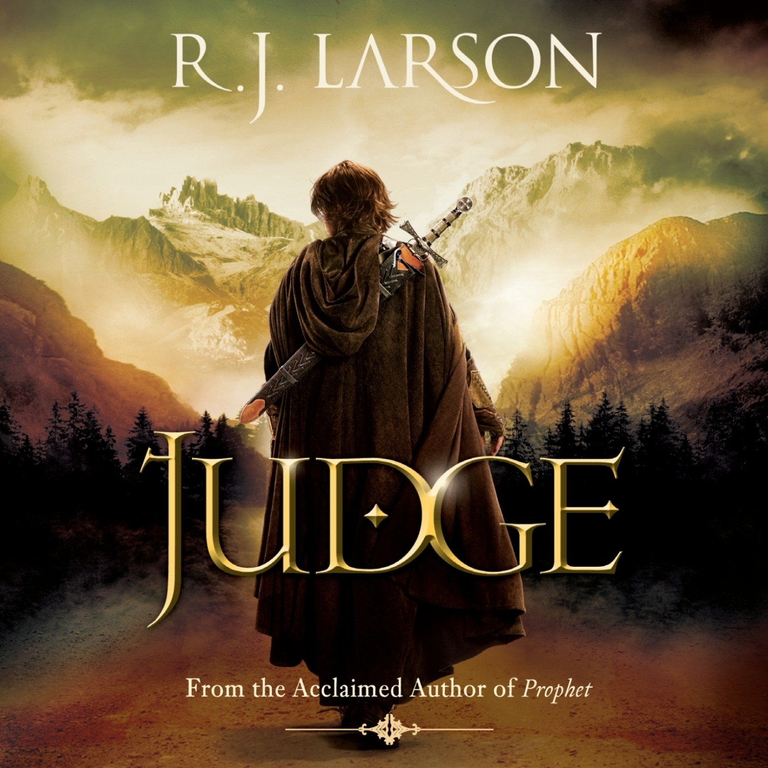Printable Judge Audiobook Cover Art