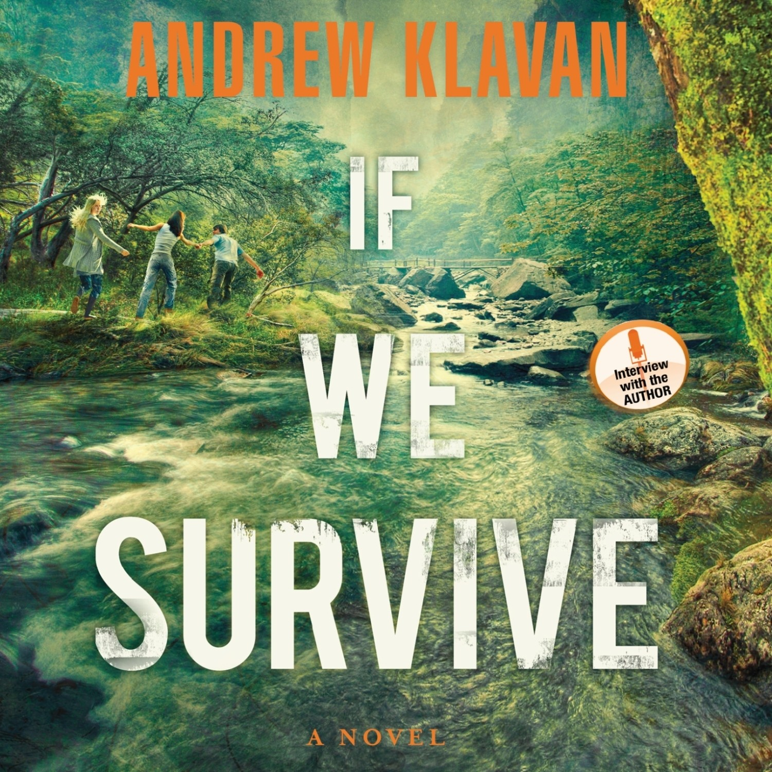 Printable If We Survive Audiobook Cover Art
