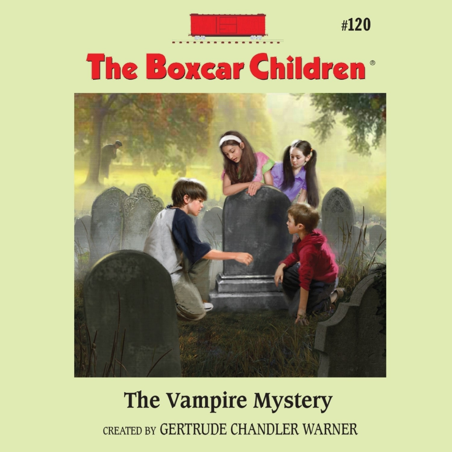 Boxcar Children Book Cover : The vampire mystery audiobook listen instantly
