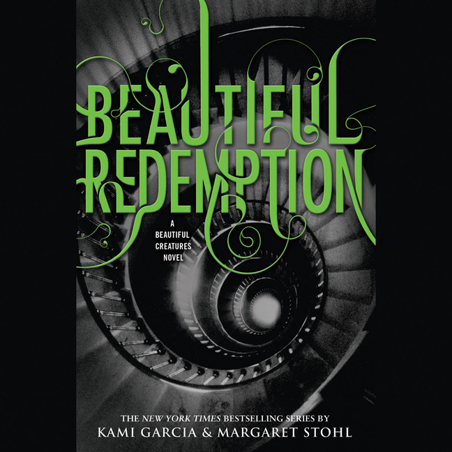 Printable Beautiful Redemption Audiobook Cover Art
