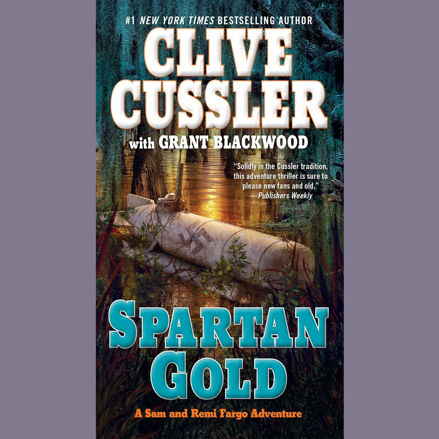 Printable Spartan Gold Audiobook Cover Art