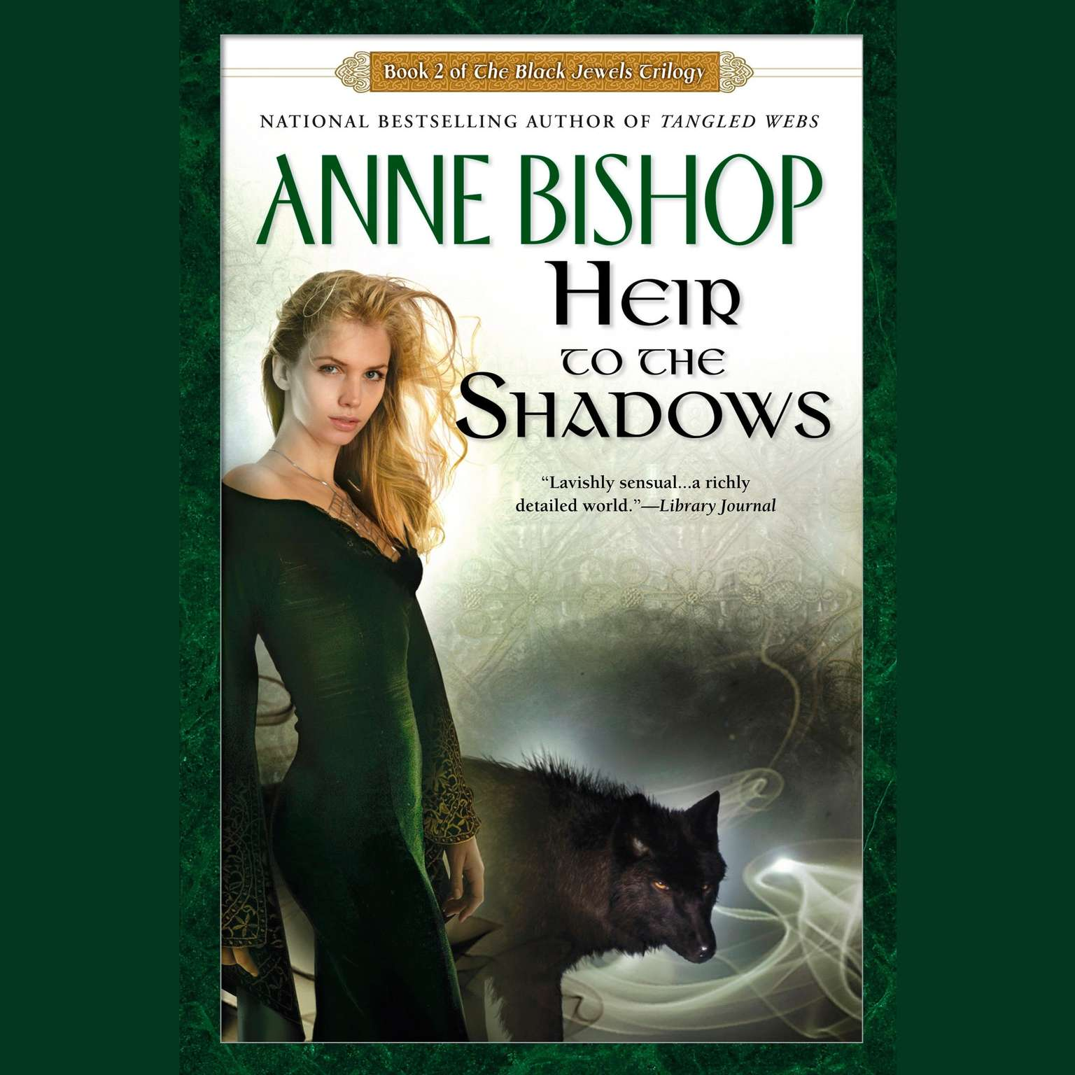 Printable Heir to the Shadows: Book 2 of The Black Jewels Trilogy Audiobook Cover Art