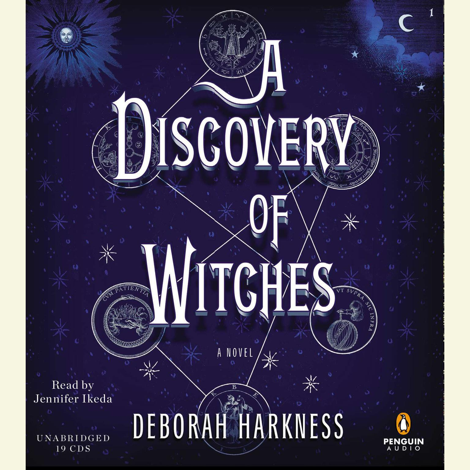 Printable A Discovery of Witches: A Novel Audiobook Cover Art