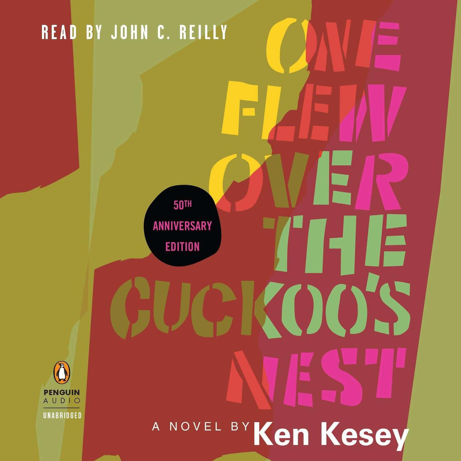 Printable One Flew Over the Cuckoo's Nest: 50th Anniversary Edition Audiobook Cover Art
