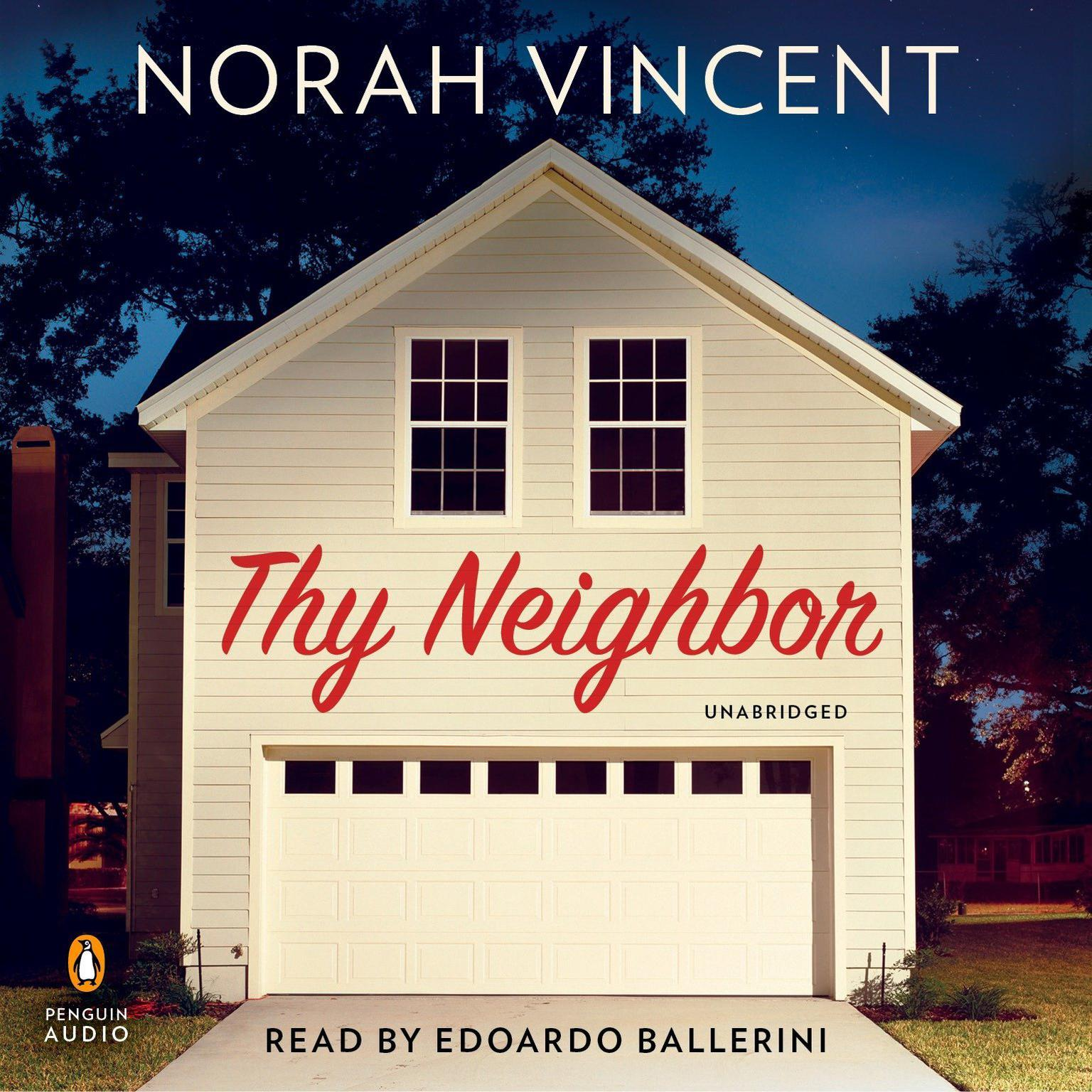 Printable Thy Neighbor: A Novel Audiobook Cover Art