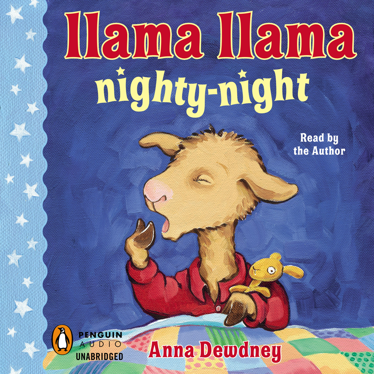 Printable Llama Llama Nighty-Night Audiobook Cover Art