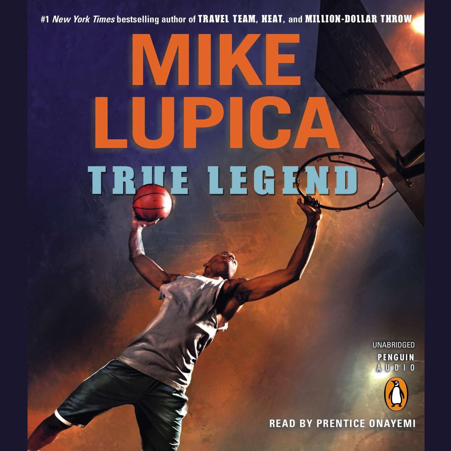 Printable True Legend Audiobook Cover Art