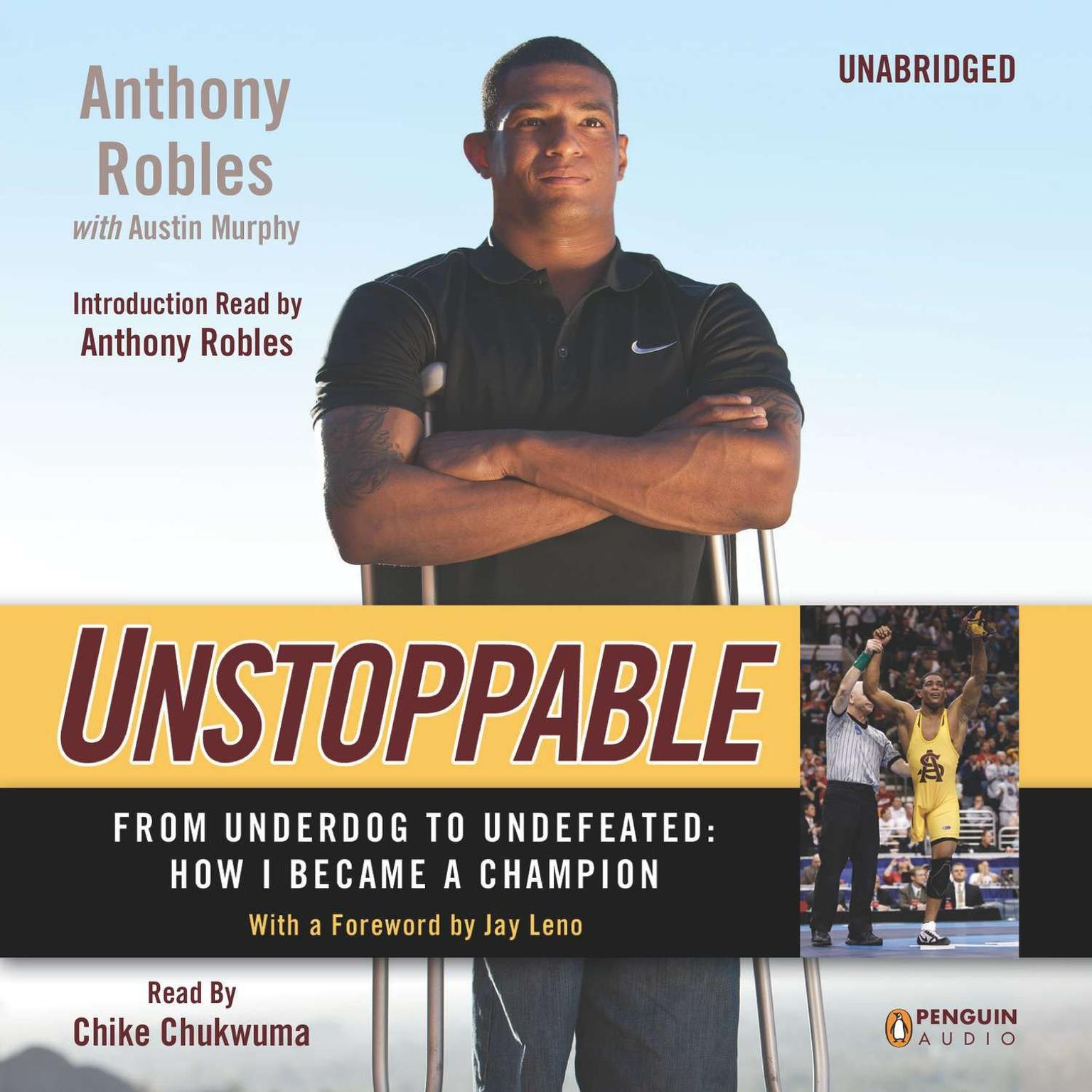 Printable Unstoppable: From Underdog to Undefeated: How I Became a Champion Audiobook Cover Art