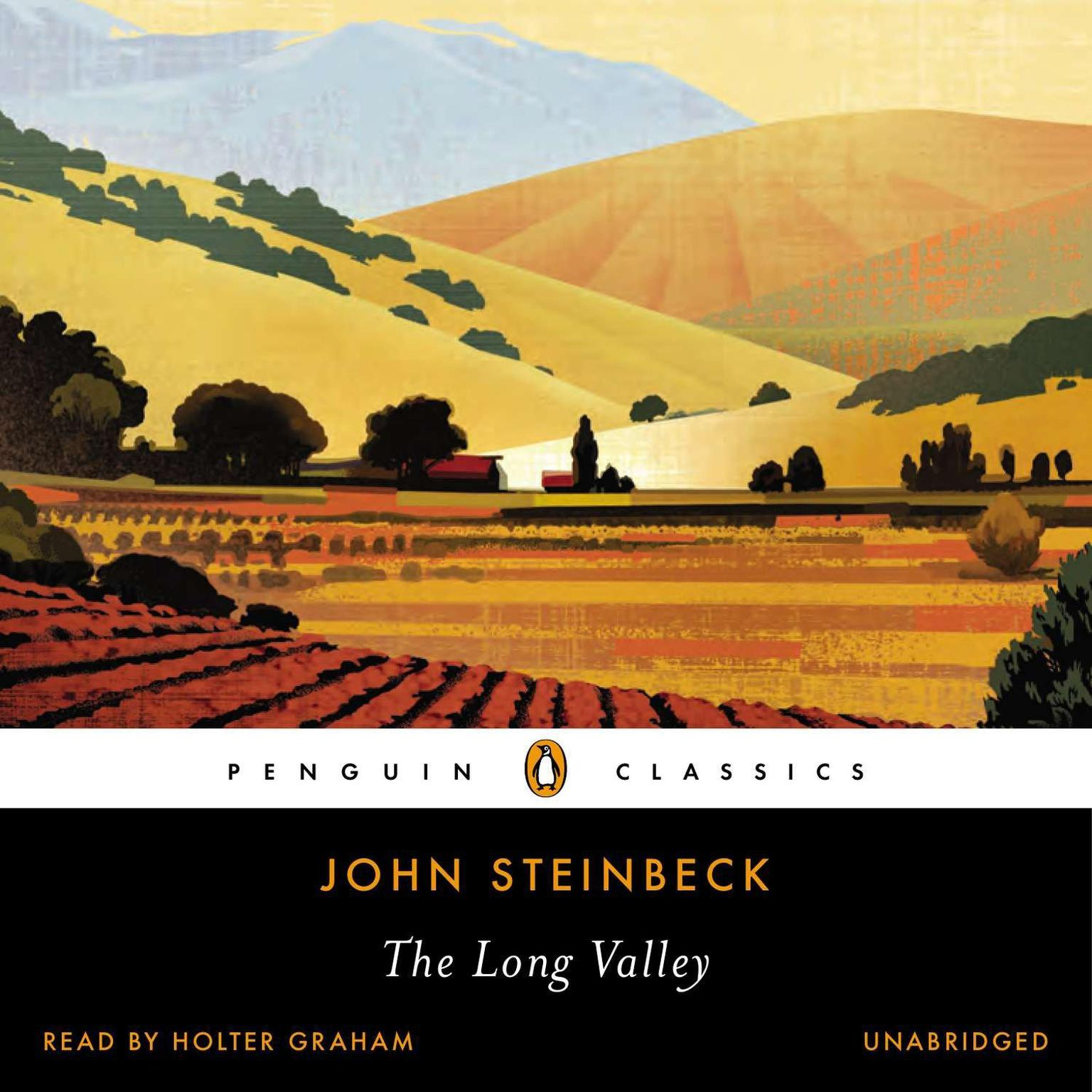 Printable The Long Valley Audiobook Cover Art