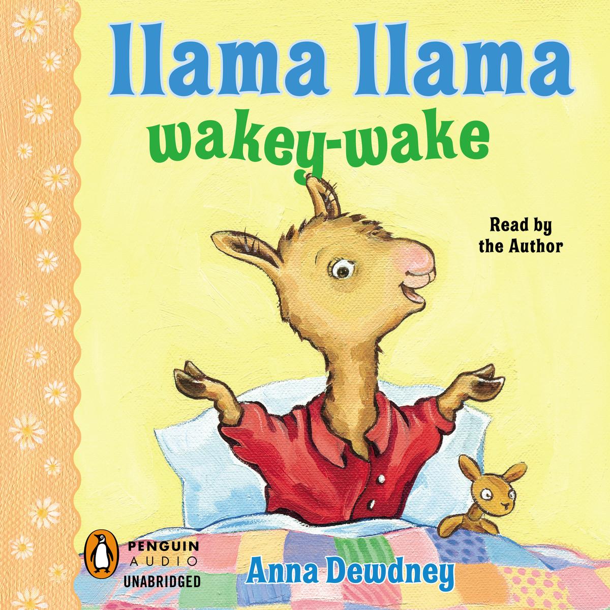 Printable Llama Llama Wakey-Wake Audiobook Cover Art