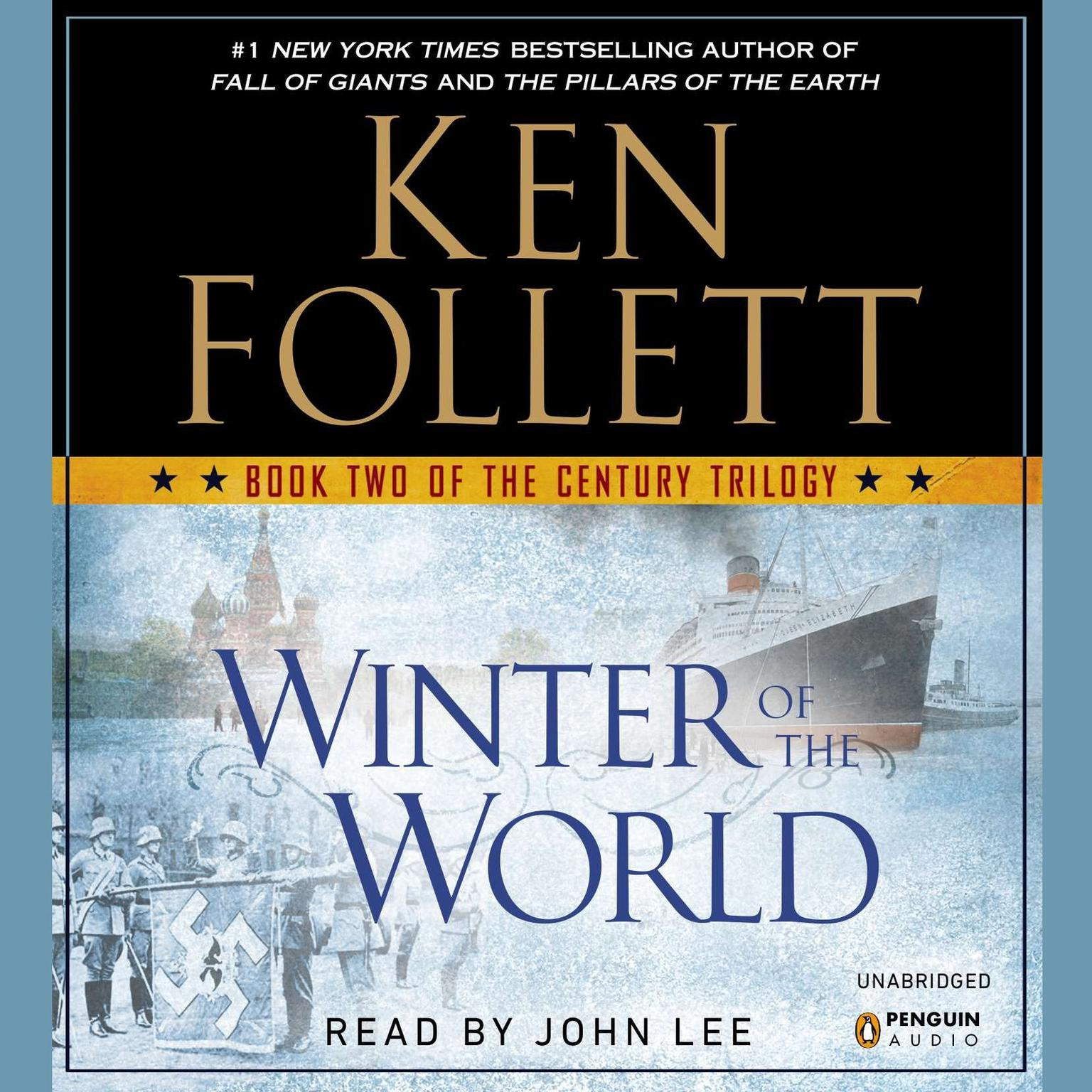 Printable Winter of the World: Book Two of the Century Trilogy Audiobook Cover Art