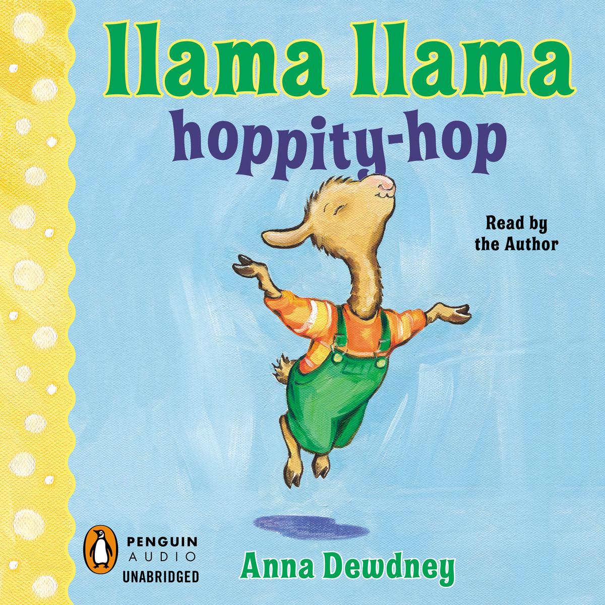 Printable Llama Llama Hoppity-Hop Audiobook Cover Art